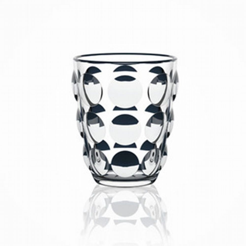 Bubble Glass Tumbler - Clear